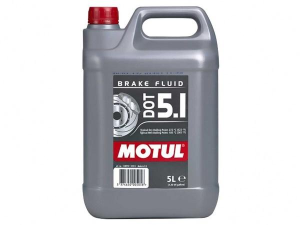 Bremsflüssigkeit DOT 5.1 Motul 5 Liter