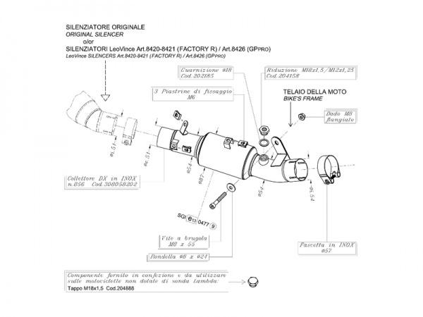 Edelstahl Kawasaki ZX-10R NINJA Auspuff