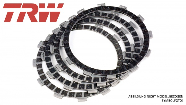 TRW Lucas Kupplungslamellen Honda CM 200 T 1980 bis 1981